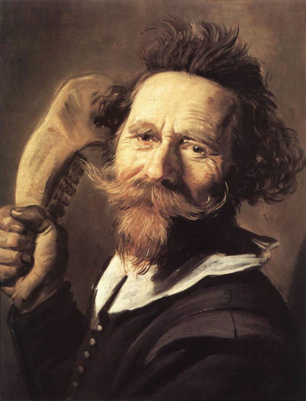 Frans Hals, Portrait of a Man with a Cow's Jawbone in His ,  Edinburgh, National Gallery of Scotland