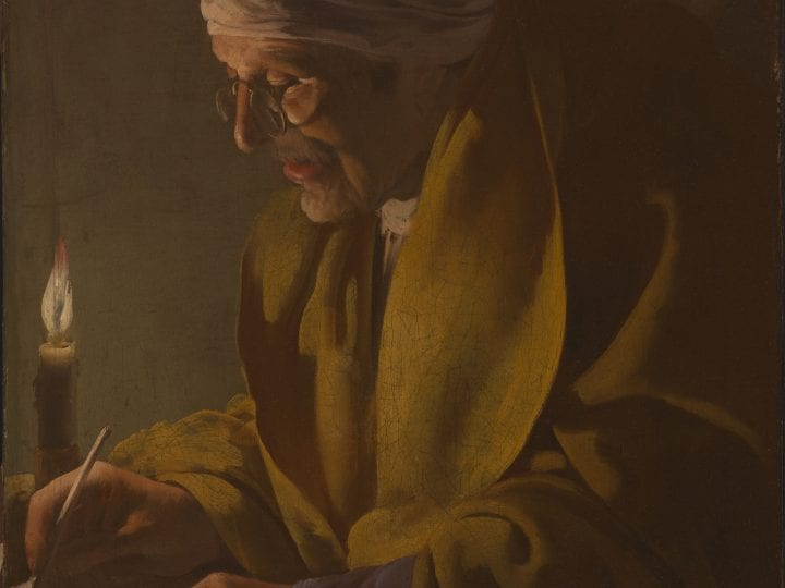 Light and Sight in ter Brugghen's <em>Man Writing by Candlelight</em>