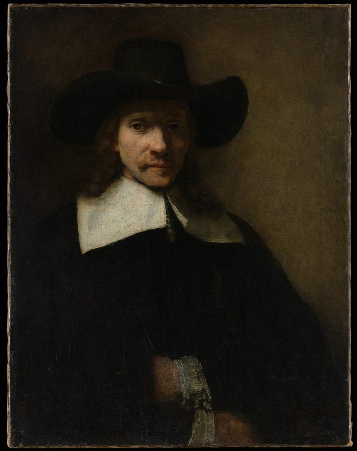 Attributed to Rembrandt van Rijn (1606–1669),  Portrait of a Man , ca. 1655–60, New York, The Metropolitan Museum of Art, Marquand Collection, Gift of Henry G. Marquand, 1890