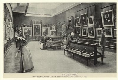 The Marquand Gallery of Old Masters at The Metro, 1897,
