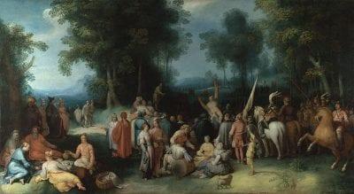 Cornelis Cornelisz van Haarlem, The Preaching of John the Baptist, 1602, London, The National Gallery