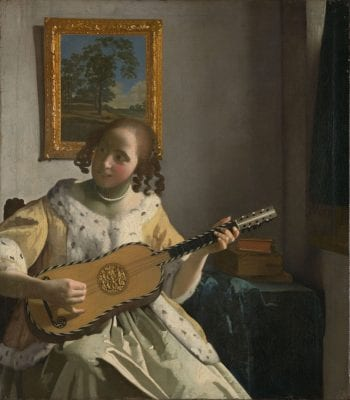 Johannes Vermeer,  The Guitar Player, 1670–72, London, Kenwood House, The Iveagh Bequest