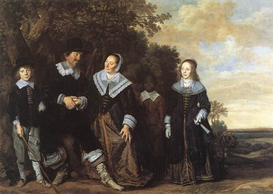 Frans Hals, Family Group in a Landscape, ca. 1648, Madrid, Museo Thyssen-Bornemisza