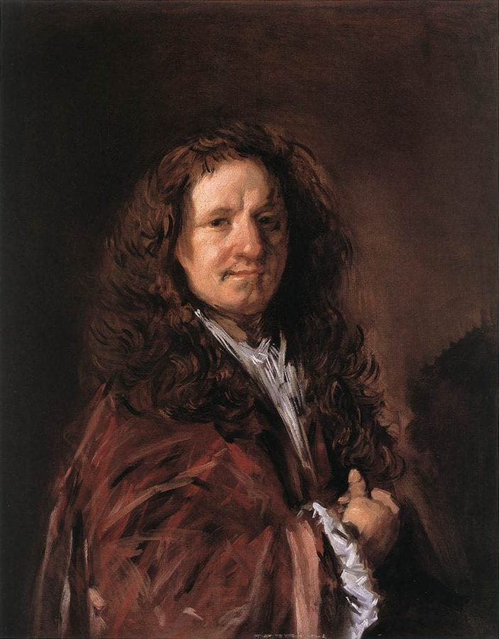 Frans Hals, Portrait of a Man, ca. 1660–66, Boston, Museum of Fine Arts