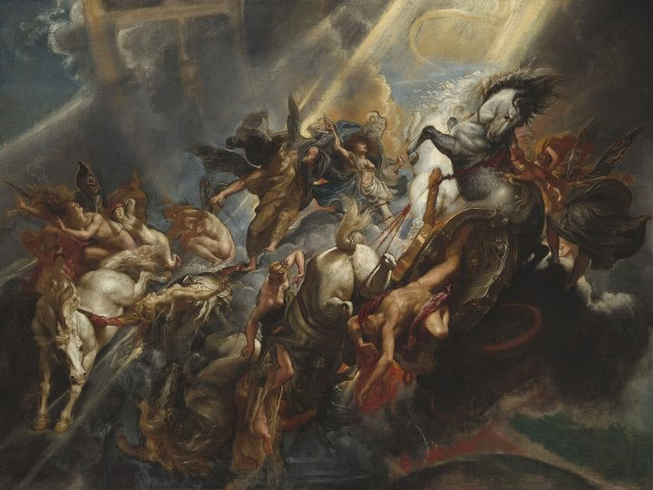 Sir Peter Paul Rubens (Flemish, 1577 - 1640 ), The Fall of Phaeton, c. 1604/1605, probably reworked c. 1606/1608, Patrons' Permanent Fund