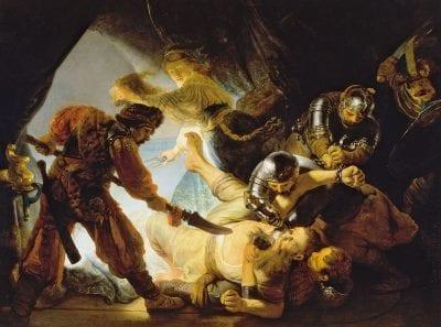 Rembrandt, The Blinding of Samson, 1636, Frankfurt, Städelsches Kunstinstitut
