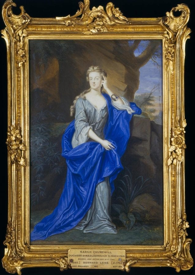 Bernard Lens III,  Sarah Churchill, Duchess of Marlborough, 1720, London, Victoria and Albert Museum