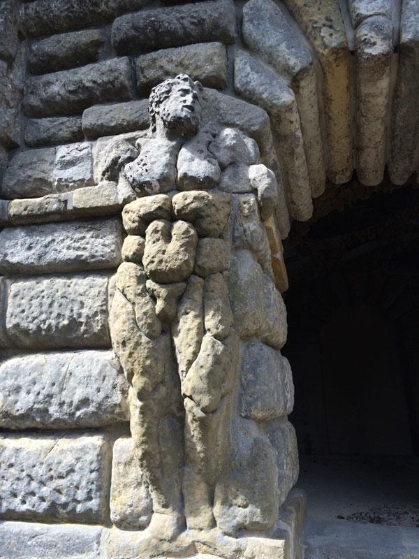 Primaticcio (1504–1570),  Grotte des Pins,  begun ca. 1528,  Château de Fontainebleau