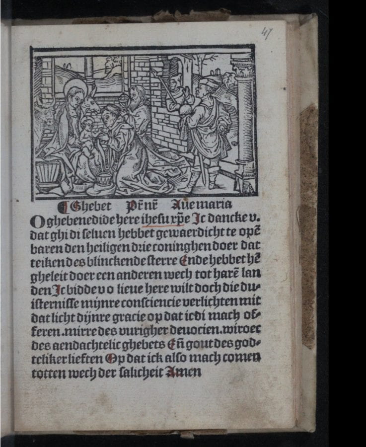 Gerrit van der Goude, Dat boexken vander missen (Booklet on the Mass) (G, 1506, The Hague, Royal Library