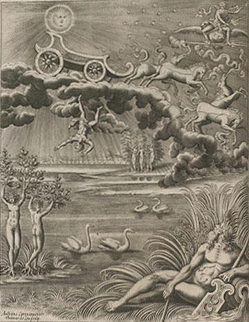 """""""Phaethon"""" (p. 90), from Philostratus,Les I, Amsterdam, Rijksmuseum"""