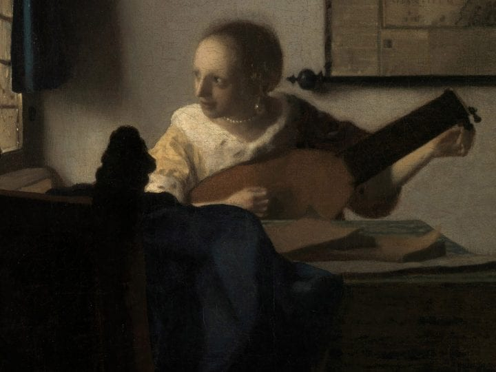 A View beyond Delft: Johannes Vermeer's <em>Woman with a Lute</em> and Its Relationship to Frans van Mieris