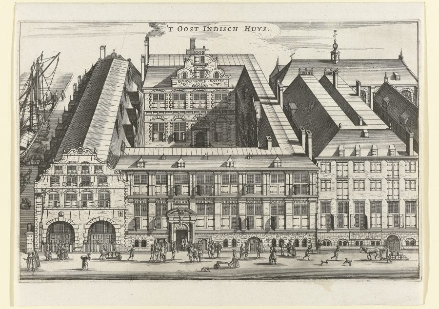 Anonymous, The Dutch East India House in Amsterdam, 1650–1724, Amsterdam, Rijksmuseum