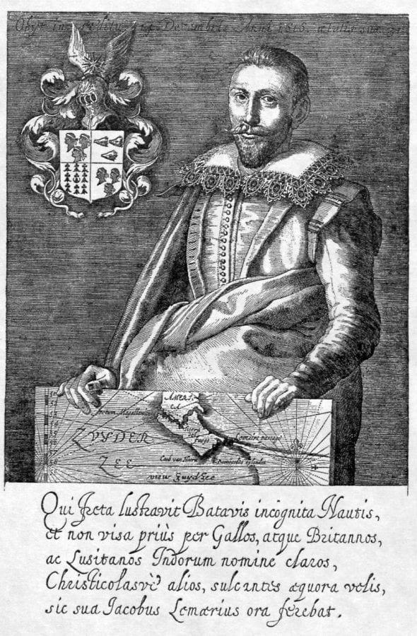 Portrait of Jacob le Maire, From Spieghel der Aus, New Haven, Yale University Art Gallery