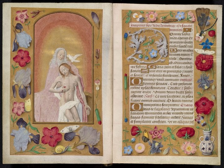 The Missing Miniatures of the Hours of Louis Quarré