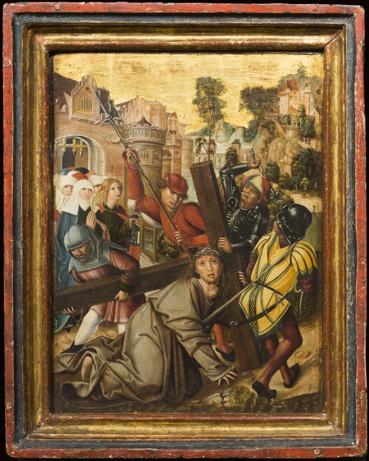 Unknown,  Christ Carrying the Cross, 1494,  The High Museum of Art