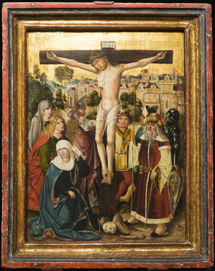 Unknown,  Crucifixion, 1494,  Charles H. and Mary F. S. Worcester Collection