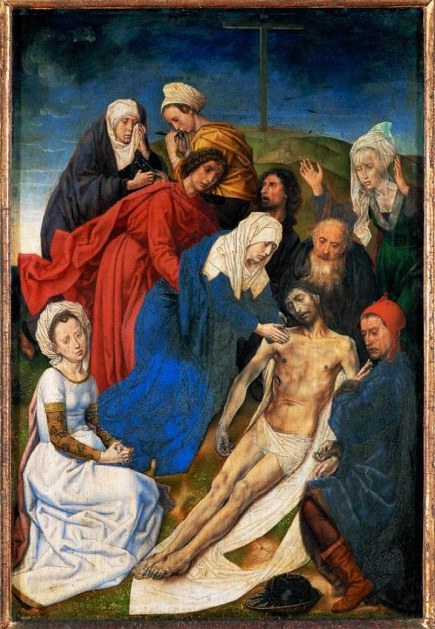 Hugo van der Goes, Lamentation, after 1479, Kunsthistorisches Museum