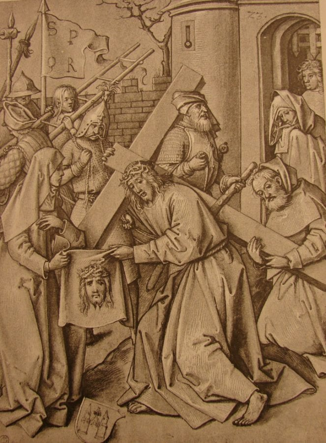 Hans Holbein the Elder, Christ Carrying the Cross, late fifteenth or early sixteenth century, Location unknown