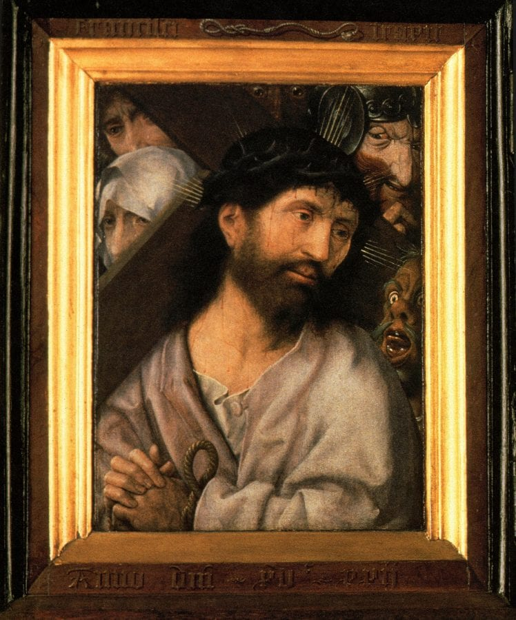 Jan Provoost,  Christ Carrying the Cross, 1522,  Bruges, Hospitaalmuseum Sint-Janshospitaal
