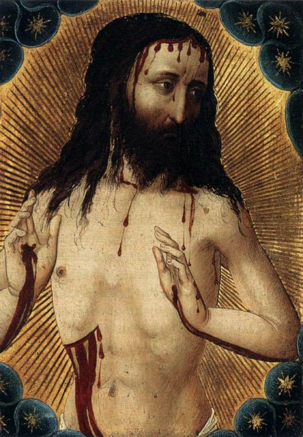 Hans Pleydenwurff,  Man of Sorrows,  ca. 1456,  Öffentliche Kunstsammlung