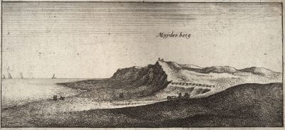 Wenceslas Hollar (Prague 1609–1677 London),  Muiderberg,  ca. 1643,