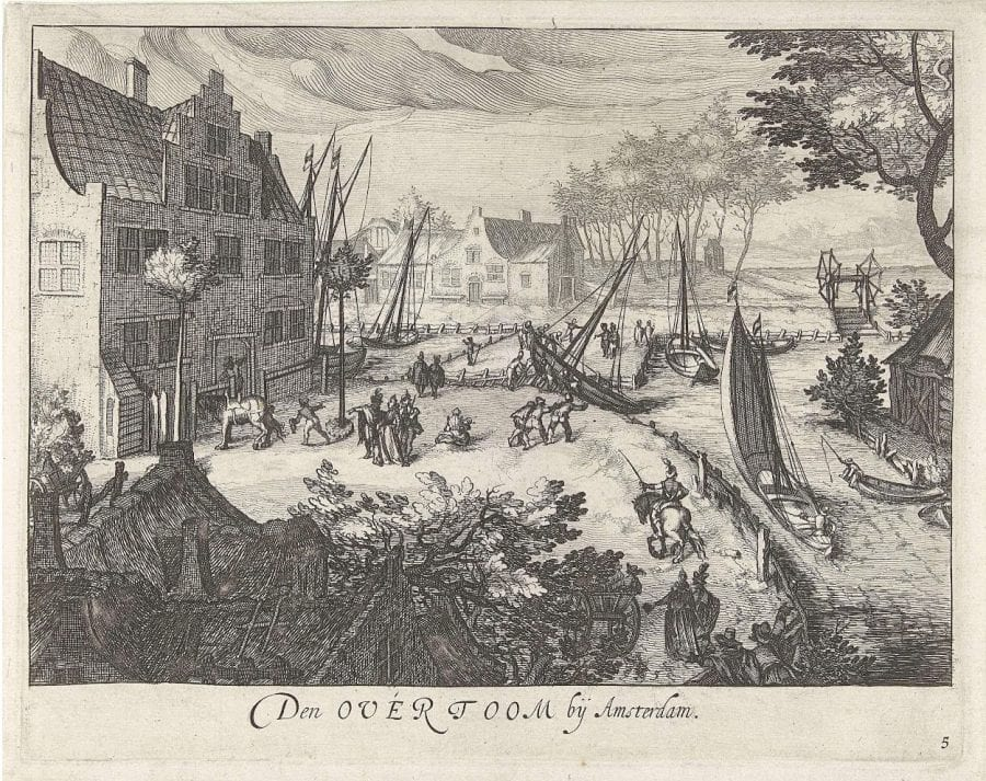 Simon Wynants Frisius (Harlingen? ca. 1580–1629 The Hague), The Overtoom near Amsterdam, ca. 1650,