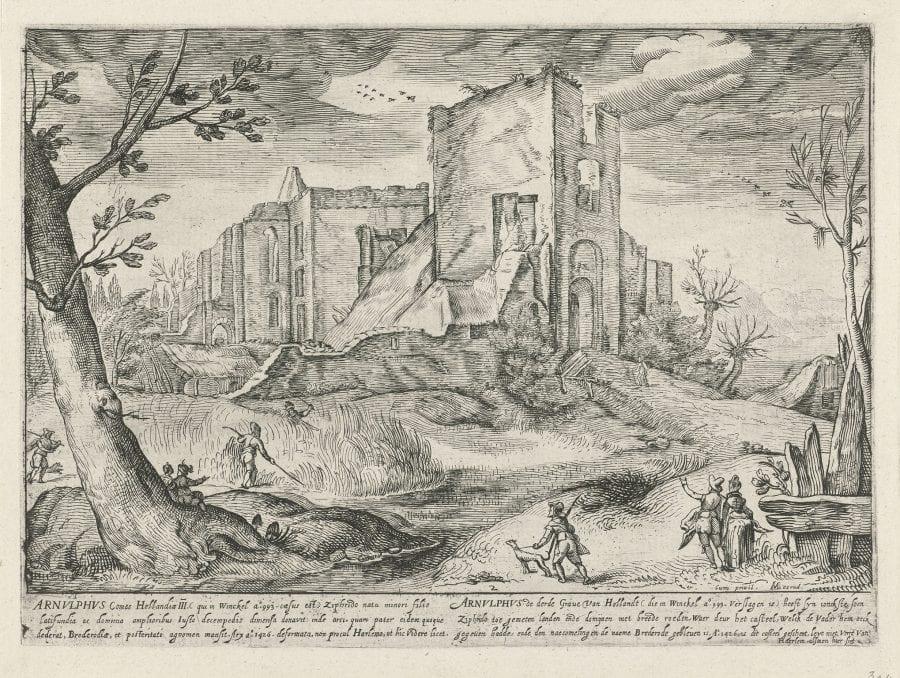 Gerrit Adriaensz Gouw (Haarlem ca. 1590–1638 Haarlem), Haarlem ca. 1590–1638 Haarlem, ca. 1610,
