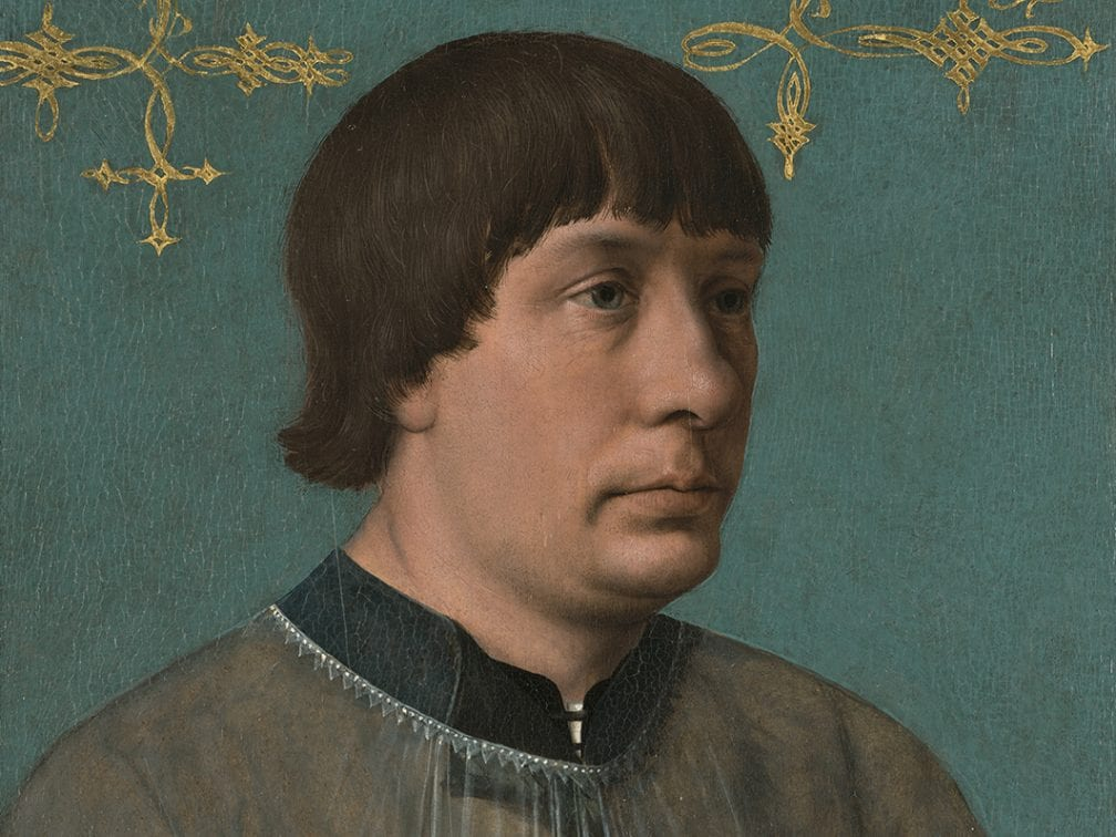 Quinten Metsys (1466_1530),  Jacob Obrecht, 1496, Fort Worth, Kimbell Art Museum