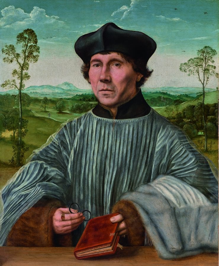 Quinten Metsys, Portrait of a Canon, 1525_30, Vienna, Liechtenstein: The Princely Collections
