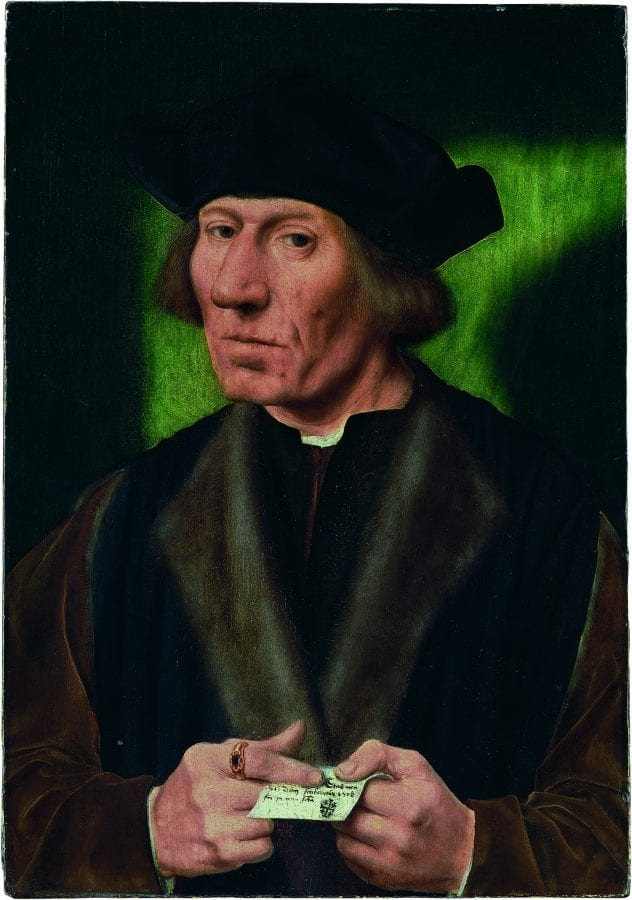Quinten Metsys, Portrait of a Fifty-one-year-old Man, also known , ca. 1509_12, Winterthur, Switzerland, The Oskar Reinhart Collection ÒAm R_merholzÓ
