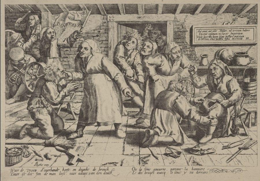 Peeter van der Borcht, after Monogrammist WL, The Upper Hand, ca. 1559_60, Rotterdam, Museum Boijmans Van Beuningen (exh.)