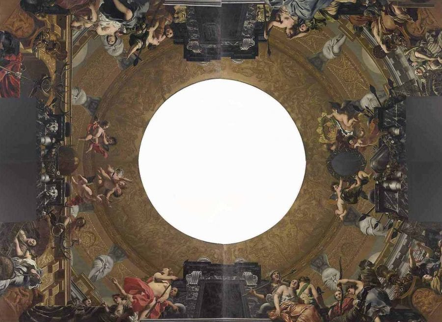 Gerard de Lairesse, Five-part Ceiling Decoration for the Great Hall o, Amsterdam, Rijksmuseum