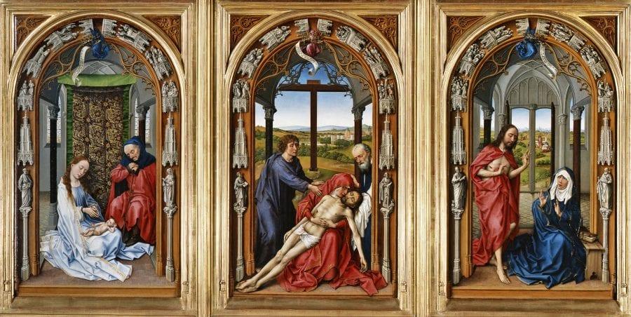 Miraflores Altarpiece, before 1445, Gemäldegalerie, Staatliche Museen zu Berlin