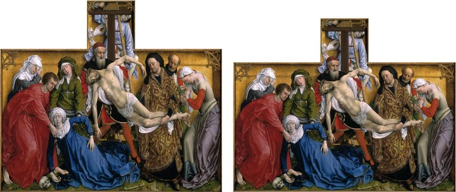 The Descent from the Cross, before 1443, Madrid, Museo del Prado