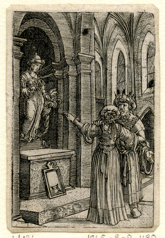 Albrecht Altdorfer,  The Idolatry of Solomon,  ca. 1500–38,  London, The British Museum