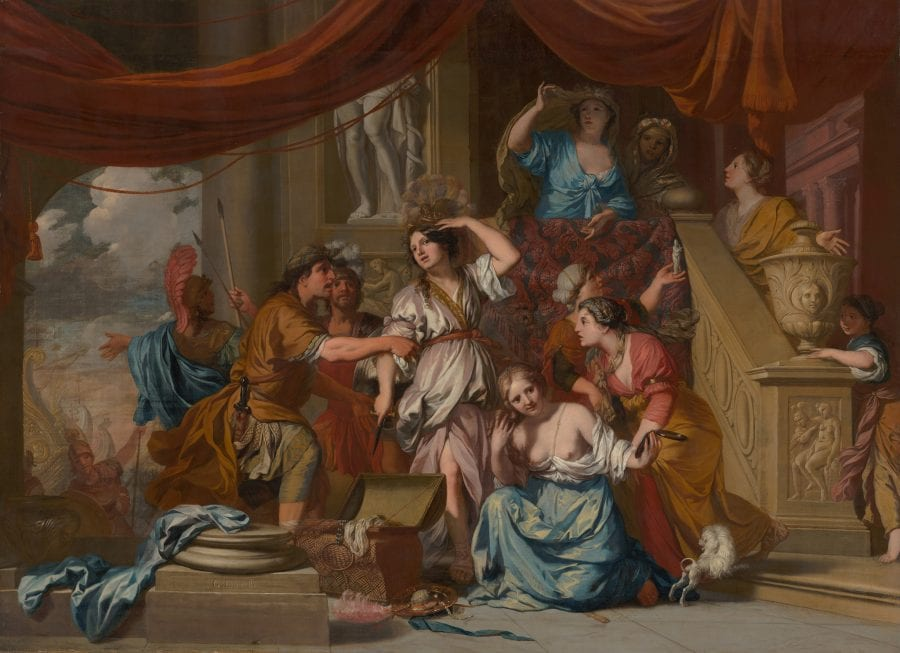 Gerard de Lairesse, Achilles Discovered Among the Daughters of Lycome, The Hague, Mauritshuis