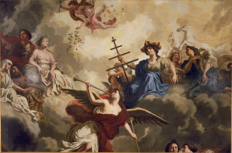 Philip Tideman, Allegory on the Navy, 1688, Amsterdam, private collection