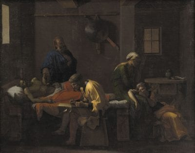 Nicolas Poussin,  The Testament of Eudamidas,  1644–48,  Copenhagen, Statens Museum for Kunst