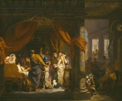 Gerard de Lairesse,  The Death of Germanicus,  ca. 1670,  Kassel, Gemäldegalerie Alte Meister