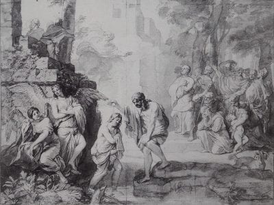 Gerard de Lairesse,  Baptism of Jesus,  ca. 1665–70,  Location unknown