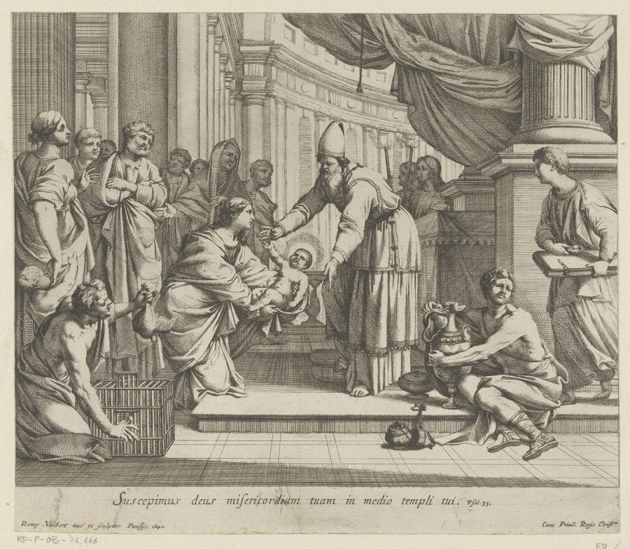 Rémy Vuibert, Presentation in the Temple, 1640, Amsterdam, Rijksmuseum, Rijksprentenkabinet