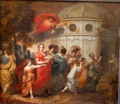 Gerard de Lairesse, Mercury Seeing Herse, ca. 1662, Riga, The Latvian Museum of Foreign Art
