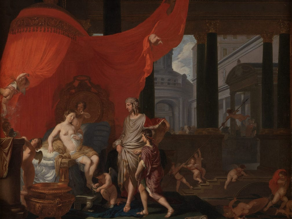 Gerard de Lairesse,  The Marriage of Alexander and Roxane, 1664,  Copenhagen, Statens Museum
