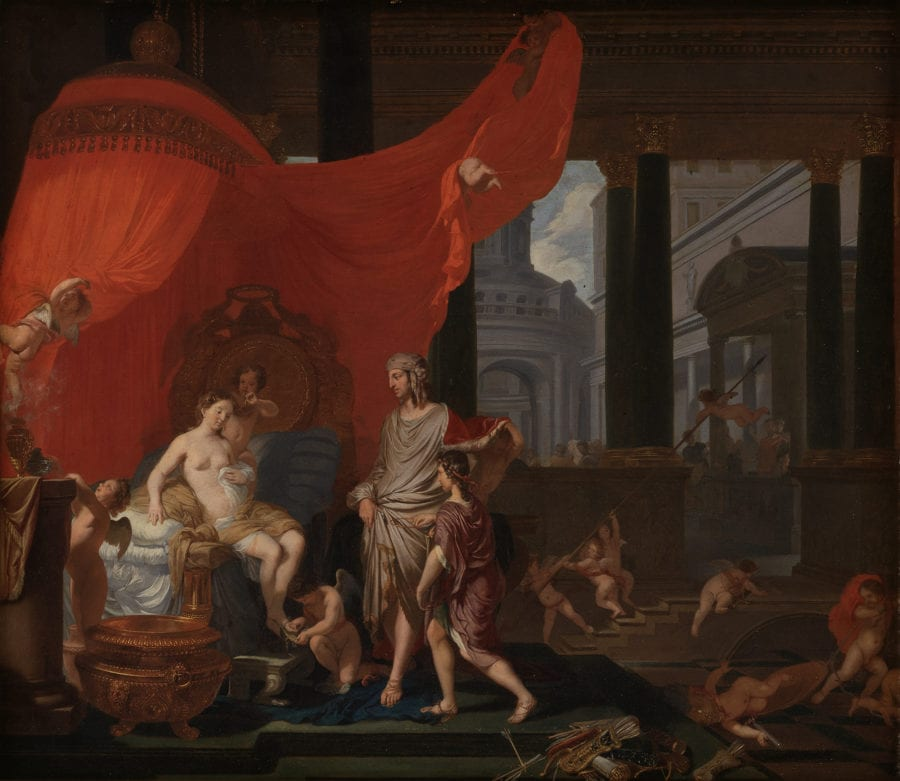 Gerard de Lairesse, The Marriage of Alexander and Roxane, 1664, Copenhagen, Statens Museum