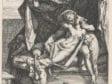 Hendrick Goltzius, after Bartholomeus Spranger,  Mars and Venus, 1588,