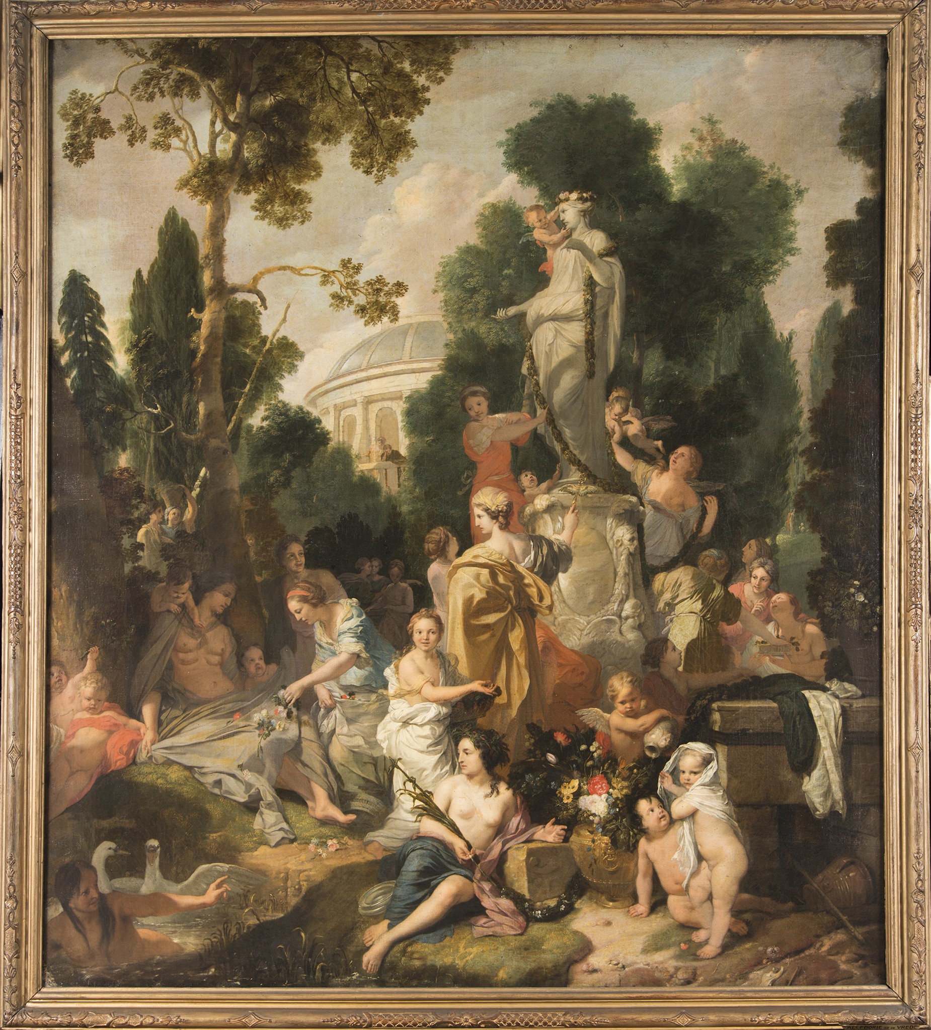 """Ambiance Et Style Tableau on gerard de lairesse's """"frenchness,"""" his liège roots, and"""