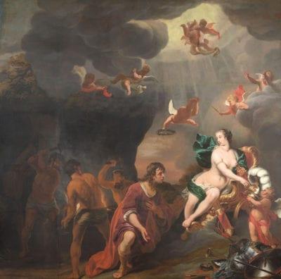 Ferdinand Bol, Venus Giving Armor to Aeneas, ca. 1660–63