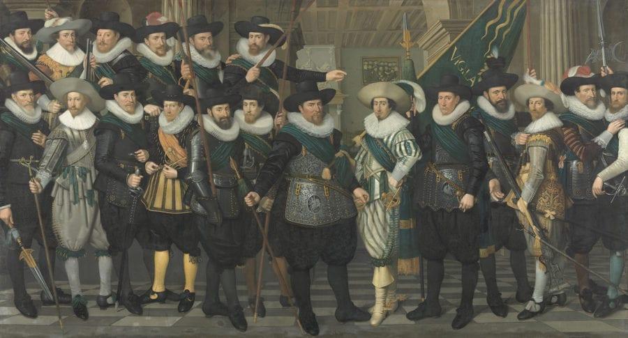 Jacob Lyon, The Company of Captain Jacob Pietersz. Hooghkamer, 1628, Amsterdam Museum