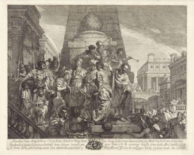Gerard de Lairesse, The Anointing of Salomon,