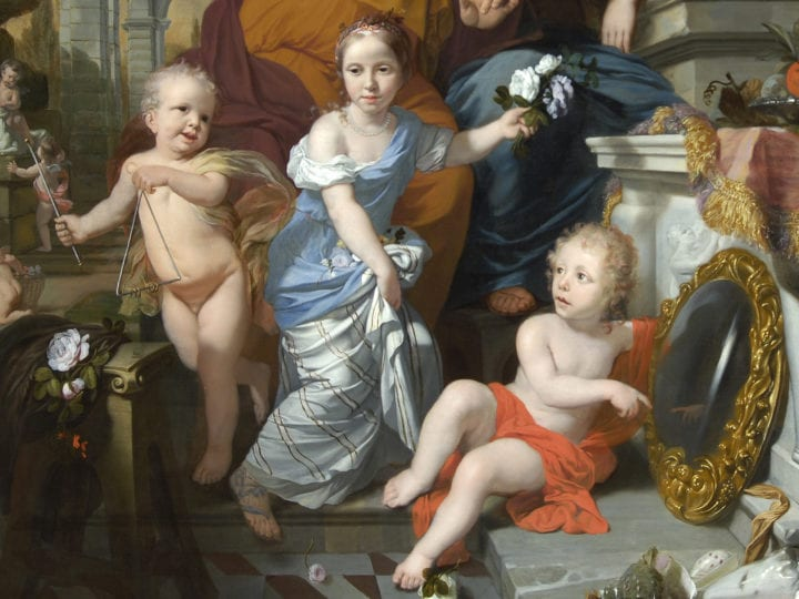 Fleeting Senses and Enduring Love: Lairesse and the Van Rijn Children. Lairesse and Portraiture